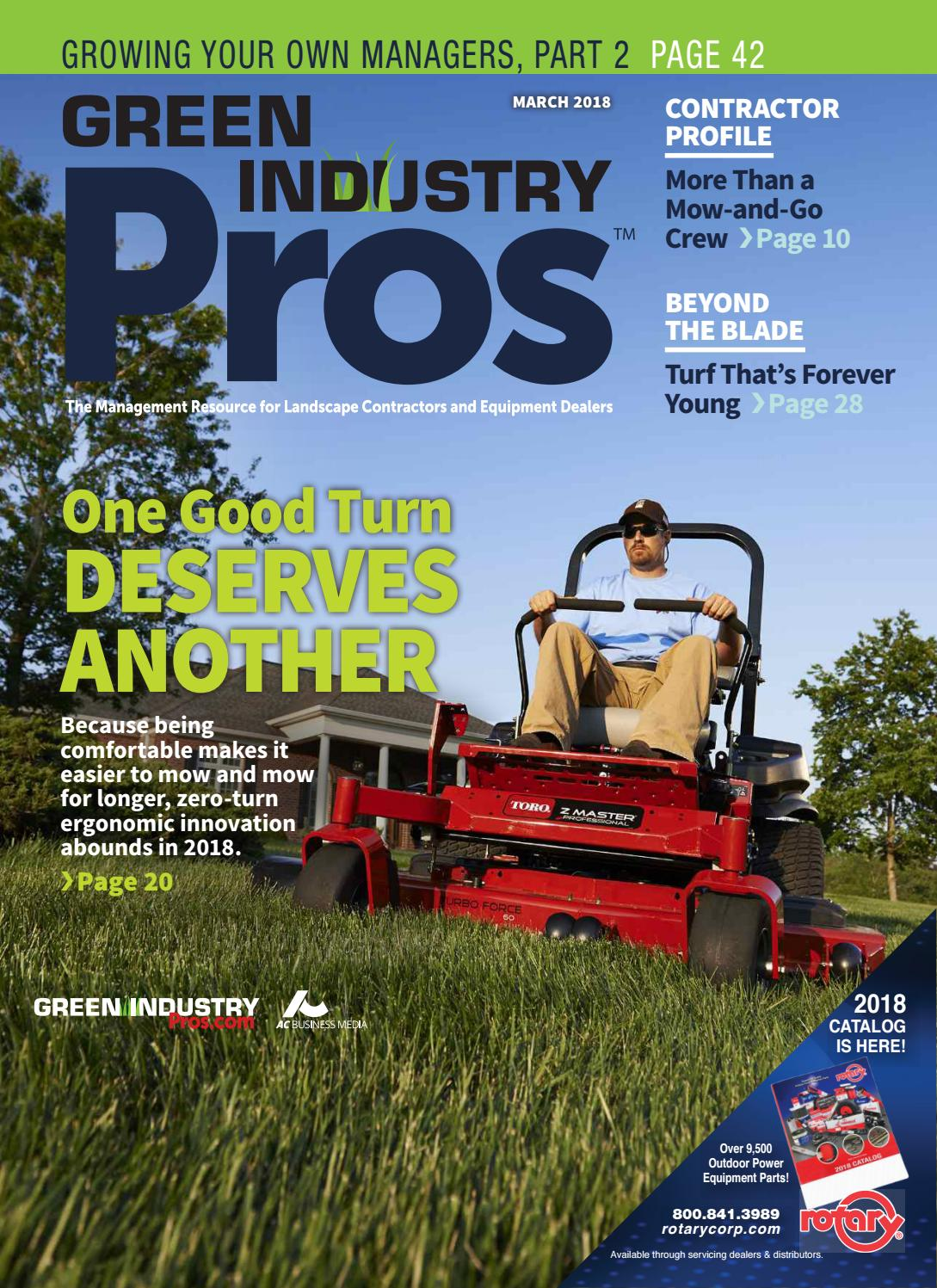 28030979a54c1d Green Industry Pros +Dealer Service Guide March 2018 by  GreenIndustryPros.com - issuu