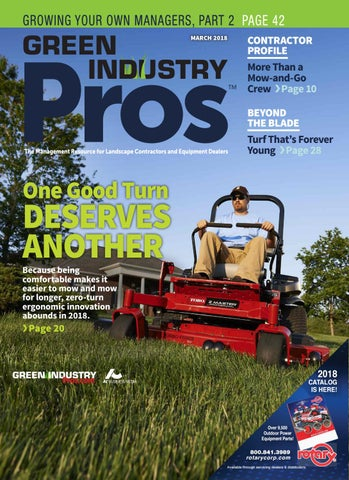 Green Industry Pros +Dealer Service Guide March 2018 by