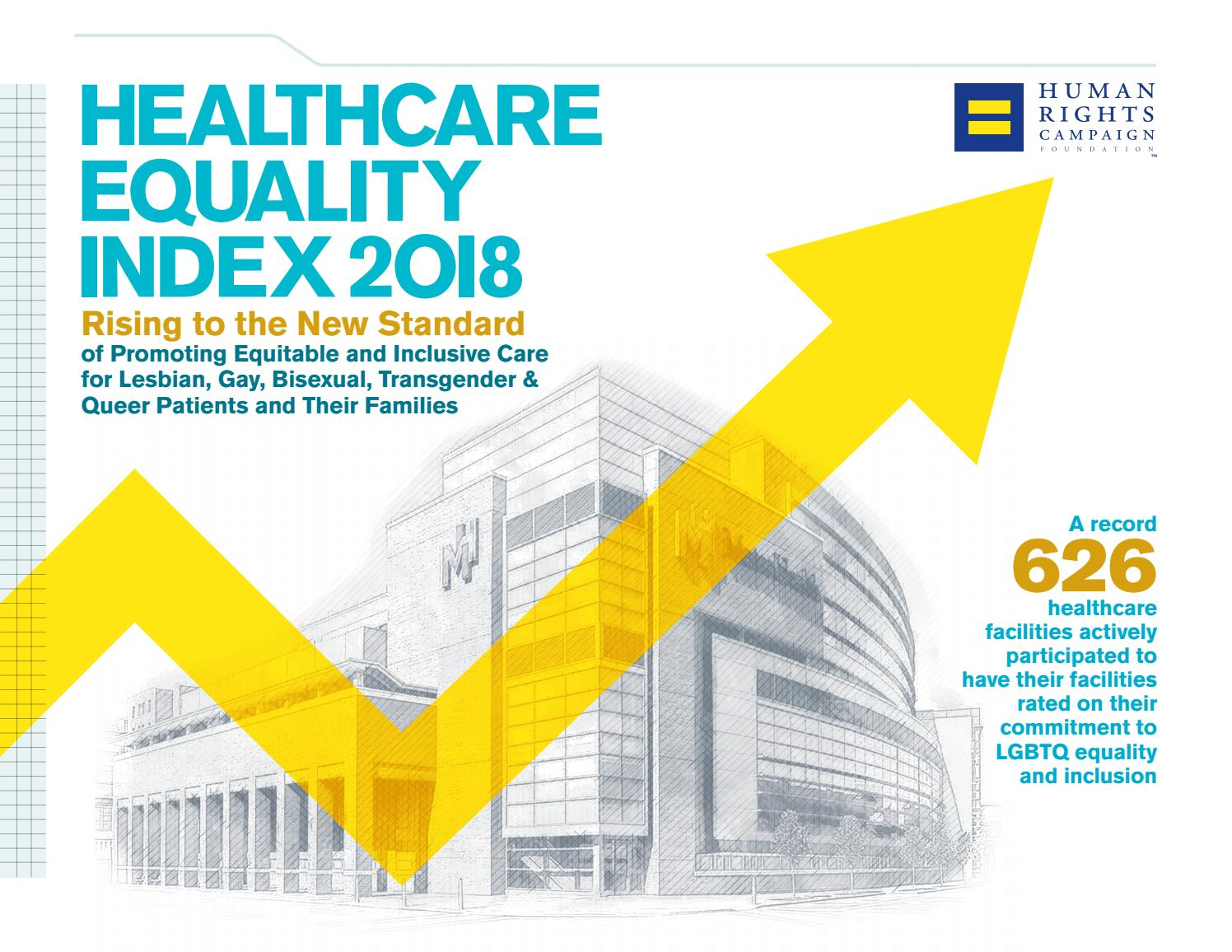 Healthcare Equality Index 2018 by Human Rights Campaign - issuu
