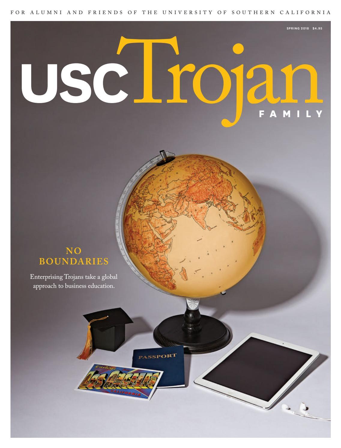 Trojan Family Magazine Spring 2018 by University of Southern