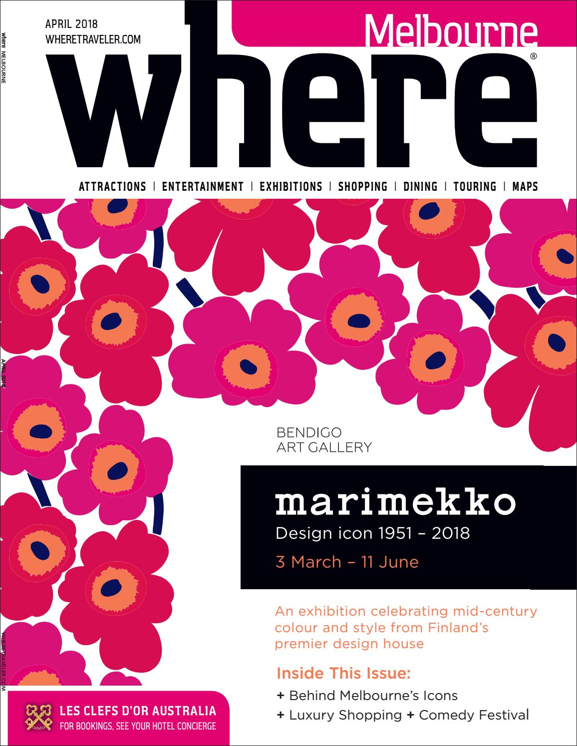 Where Magazine Melbourne Apr 2018 by Morris Media Network - issuu