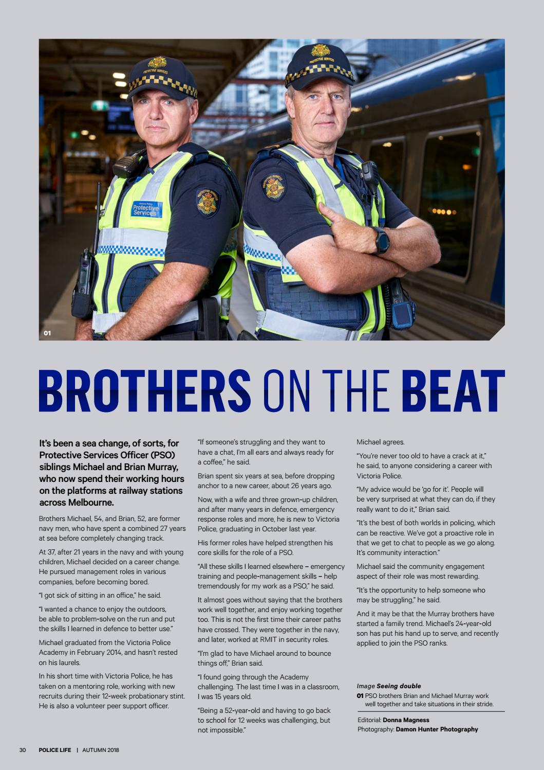 Police Life Autumn 2018 by Victoria Police - issuu