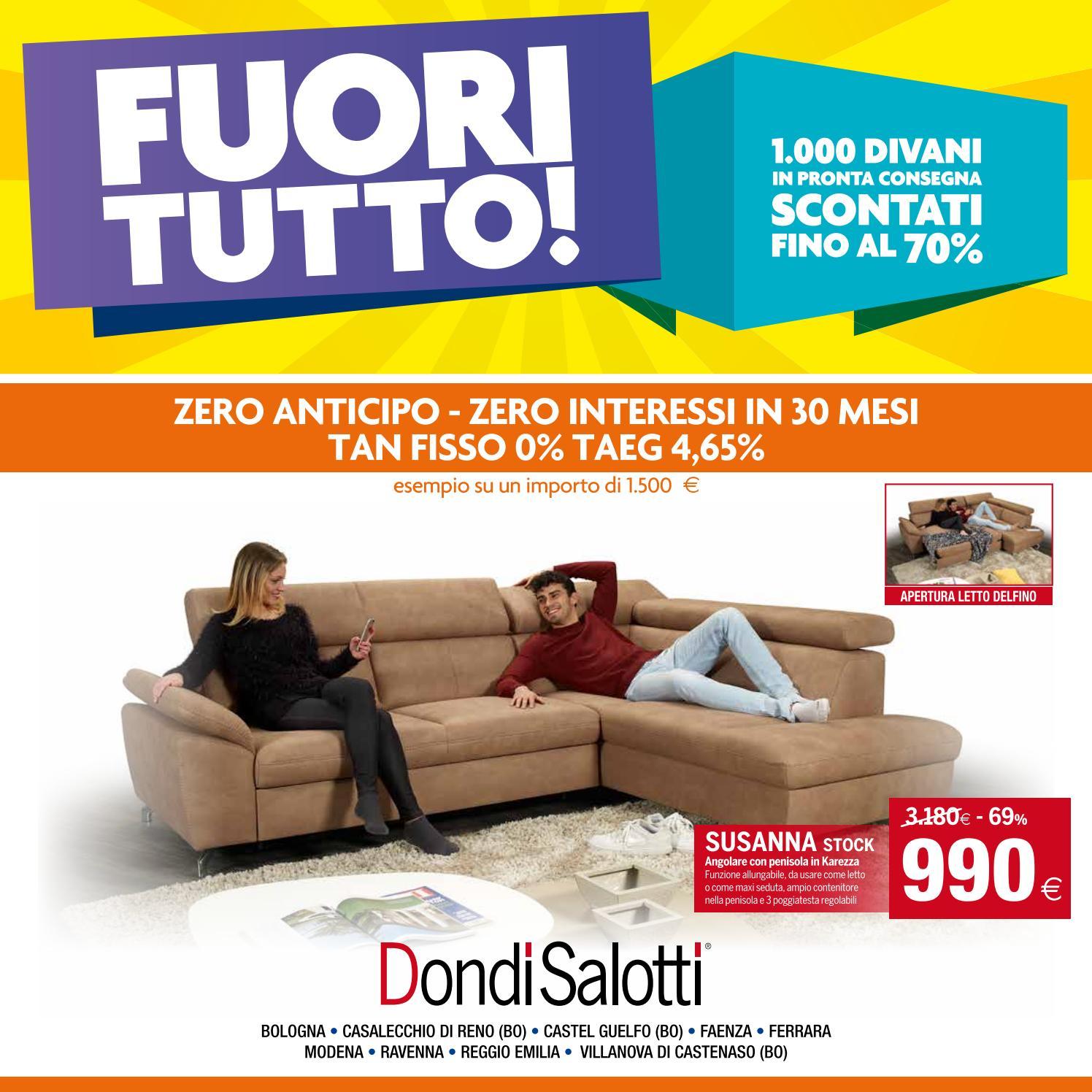 Dondi Salotti - Volantino Fuoritutto by Michele Travagli - issuu