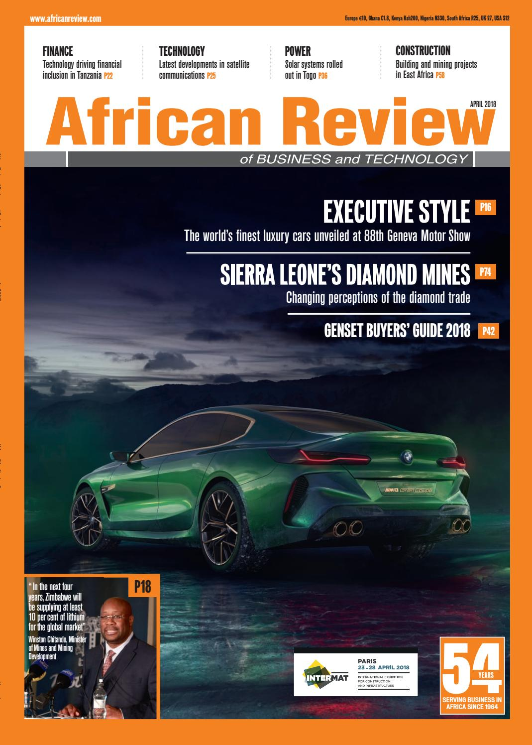 African Review April 2018 By Alain Charles Publishing Issuu Circuit Board Recycling Equipmentoffer Copper Wire Machine