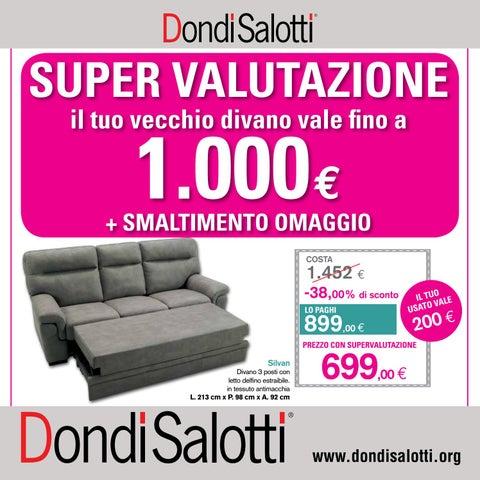 DONDI SALOTTI SUPERVALUTA IL TUO USATO FINO A 1000 € by effesalotti ...