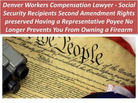 Denver workers compensation lawyer social security