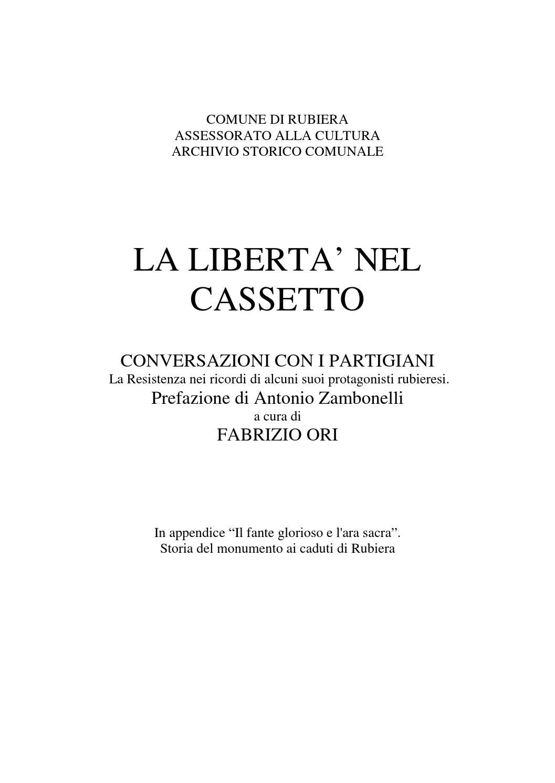 La libertà nel cassetto r01 by ANPI Reggio Emilia - issuu 48ab5fe4d2d