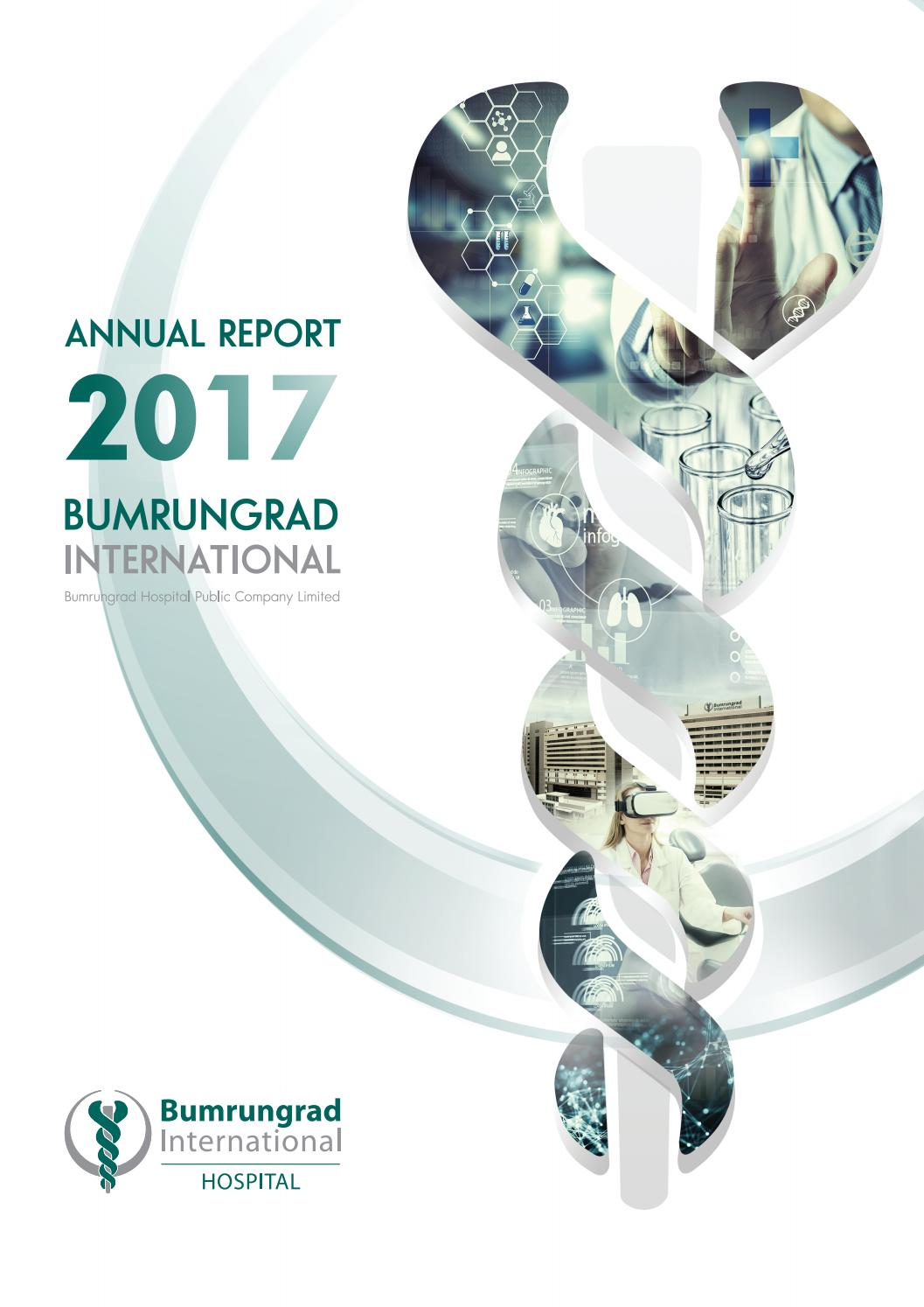 BH : Annual Report 2017 by Bumrungrad Hospital Public Company
