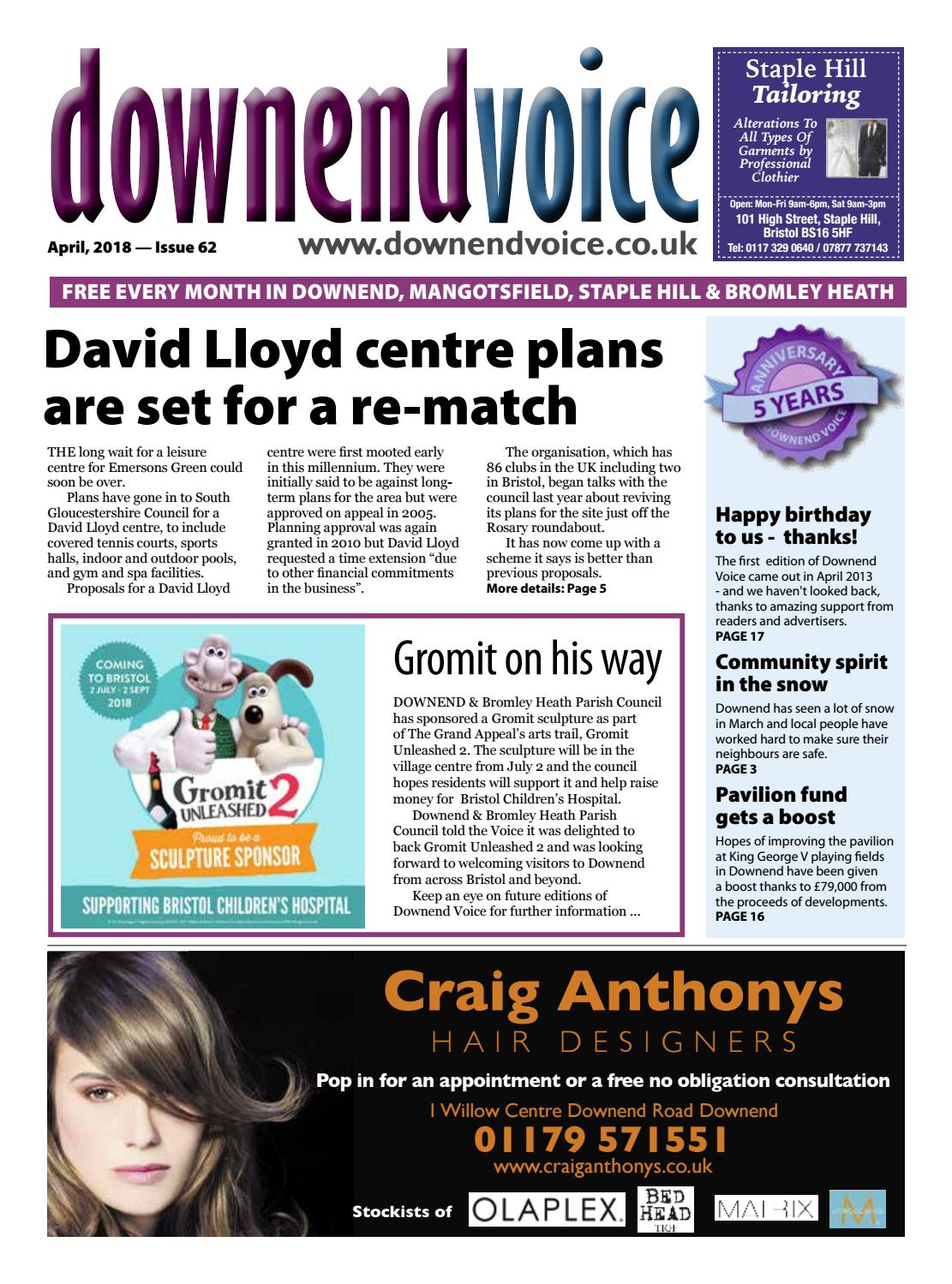 738322cf3 Downend Voice April 2018 by Gary Brindle - issuu