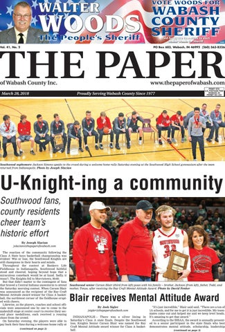 The Paper Of Wabash County March 28 Issue By
