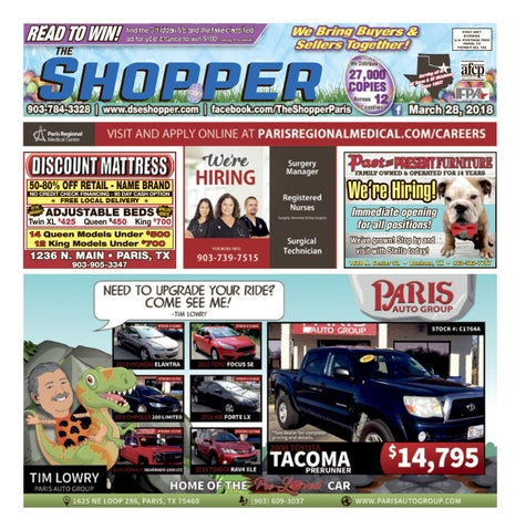 The Shopper 032818 By Theshopper Issuu