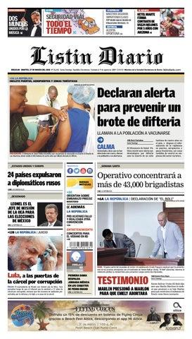 840ee2fb986a LD 27-03-2018 by Listín Diario - issuu