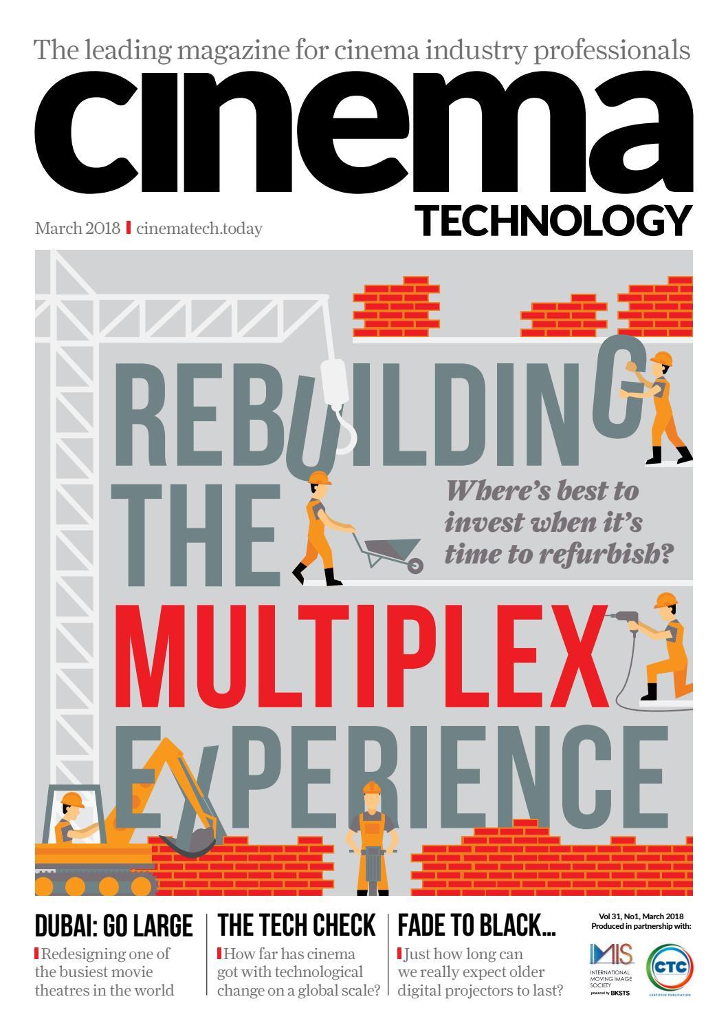 Cinema Technology March 2018 by Cinema Technology - issuu