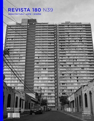 Revista 180 Nº39 By Ediciones Escuela De Diseno Udp Issuu