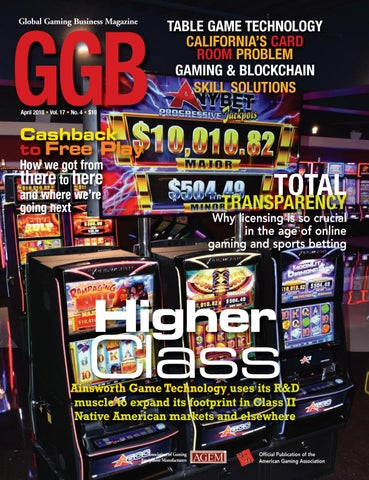 Global Gaming Business, April 2018 by Global Gaming Business