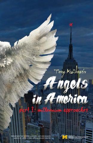 Angels in America program by University of Michigan School of Music ...