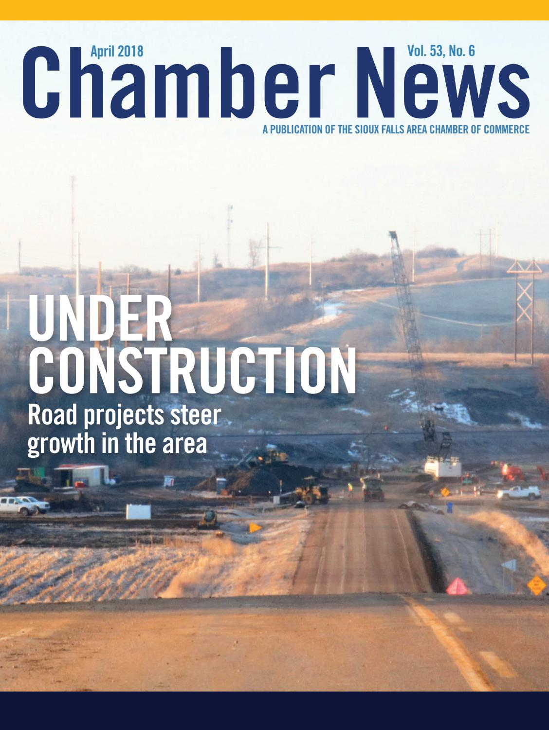 April 2018 Chamber News by Sioux Falls Area Chamber of Commerce - issuu