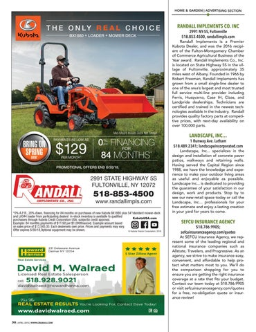 Page 30 of Home & Garden Advertising Section