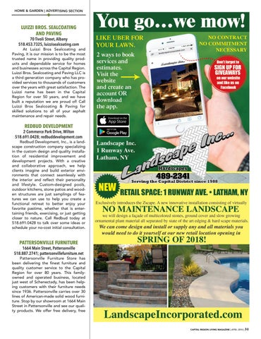 Page 31 of Home & Garden Advertising Section