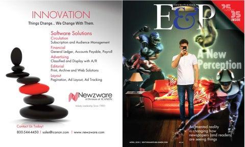 April 2018 - Editor & Publisher