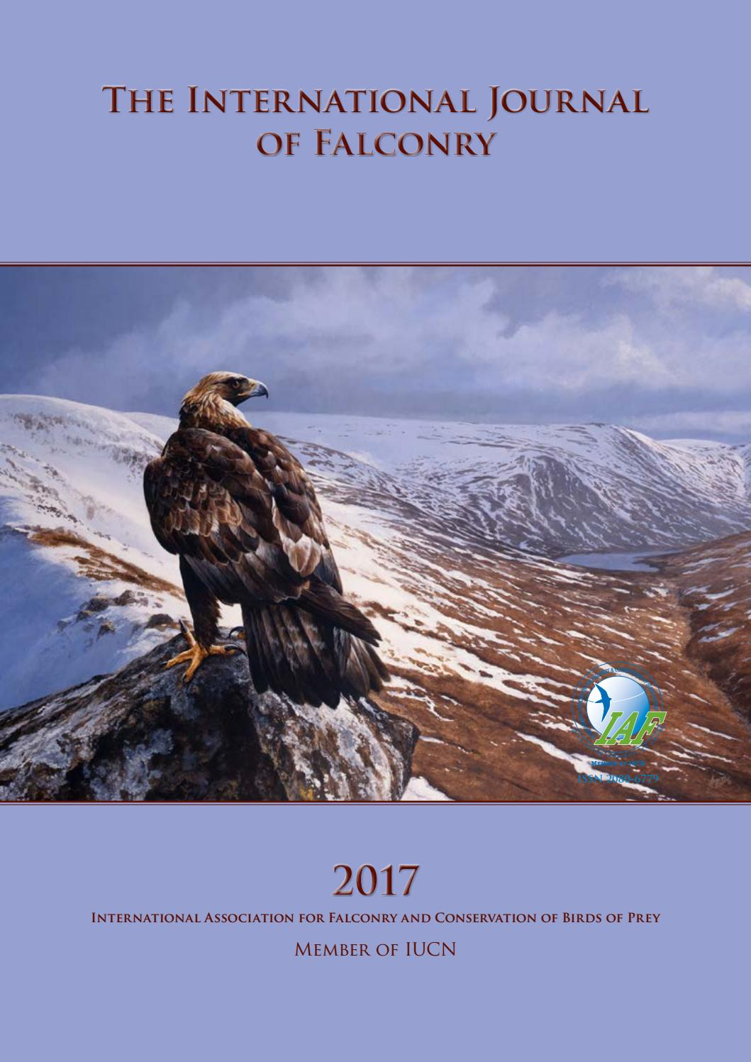 The International Journal Of Falconry 2017 By Robert Zmuda Issuu