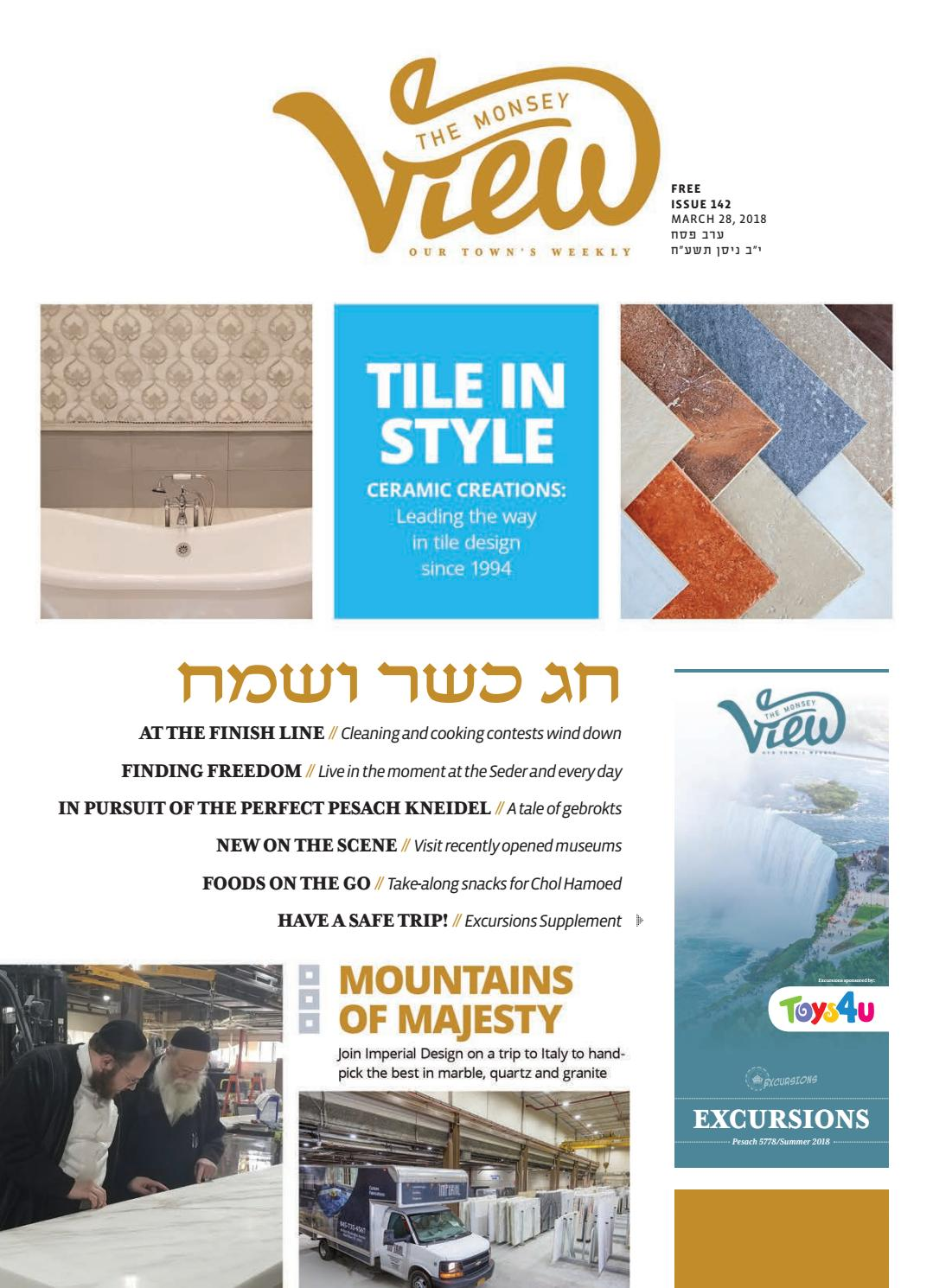 Issue 142 by The Monsey View - issuu