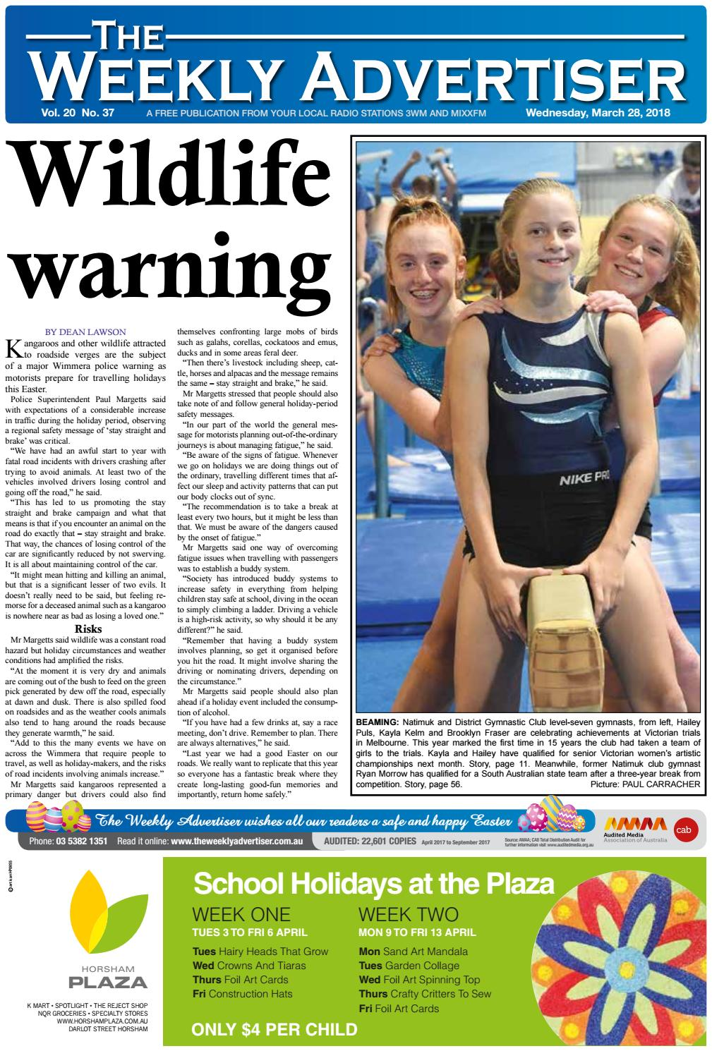 2c98ab4714b The Weekly Advertiser - Wednesday