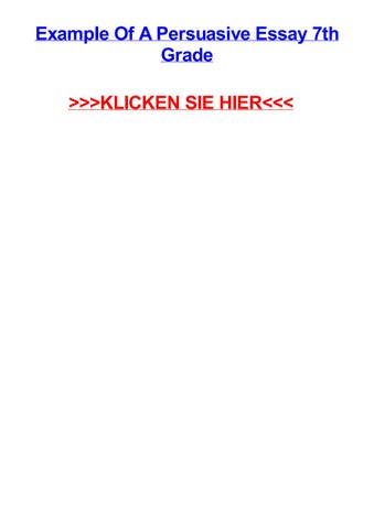 Example Of A Persuasive Essay 7th Grade KLICKEN SIE HIER Rosenthal Hessen Kommasetzung Deutsch Ubungen