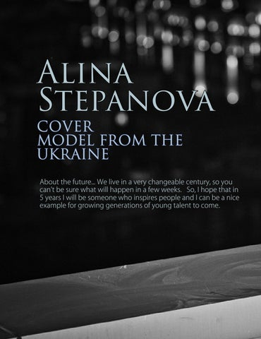 Page 30 of Alina Stepanova Cover Model