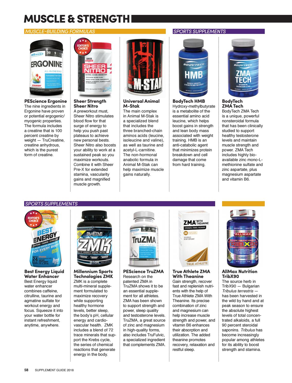 Supplement Guide 2018 by Muscle & Performance - issuu
