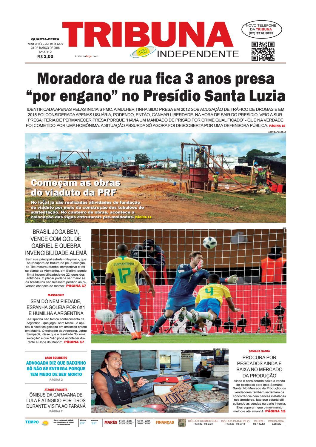 3a1f7ed8521ca Edição número 3112 - 28 de março de 2018 by Tribuna Hoje - issuu
