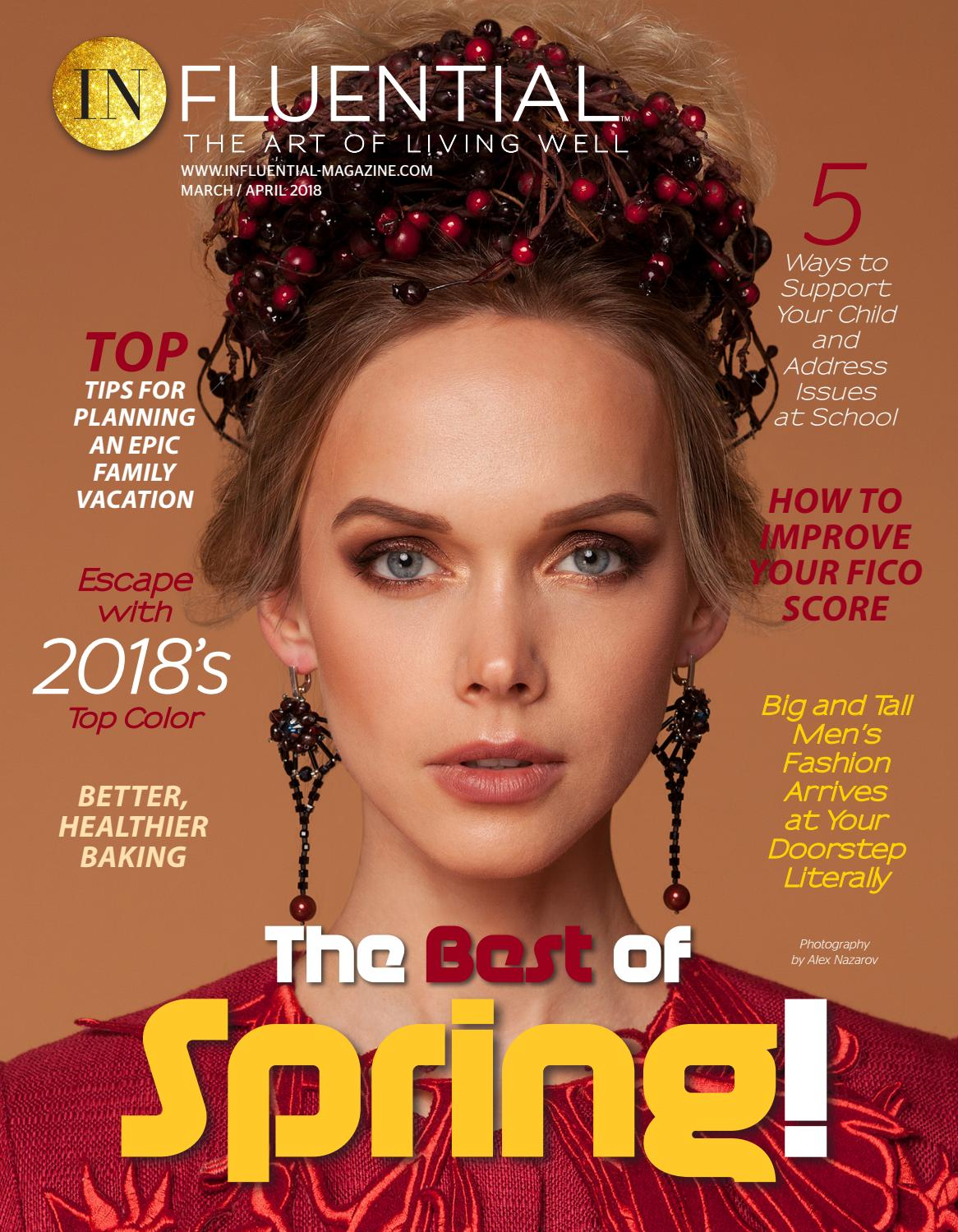 March April 2018 Subscriptions: March / April 2018 InFluential Magazine, Spanish
