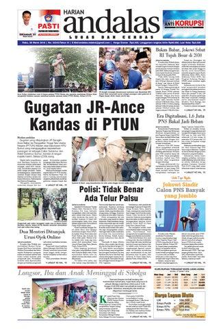 15efe8a9888f Epaper andalas edisi rabu 28 maret 2018 by media andalas - issuu