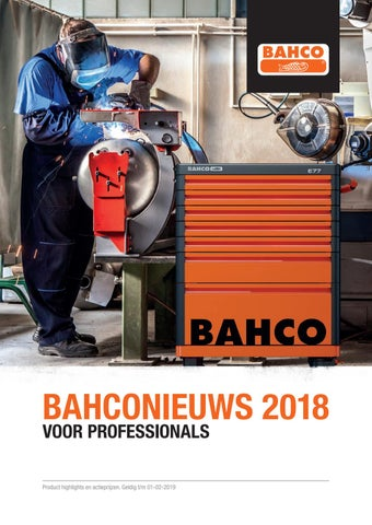 Bahco Nieuws 2018 Vos Tools By Vos Tools Issuu