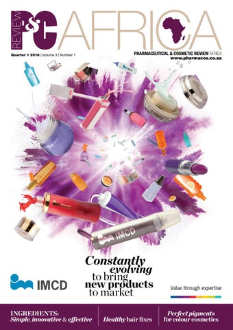 Pharmaceutical & Cosmetic Review Africa Q1 2018 by New Media
