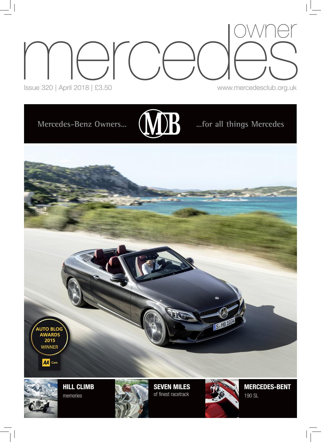 Mercedes Owner magazine April 2018 by Mercedes Owner magazine