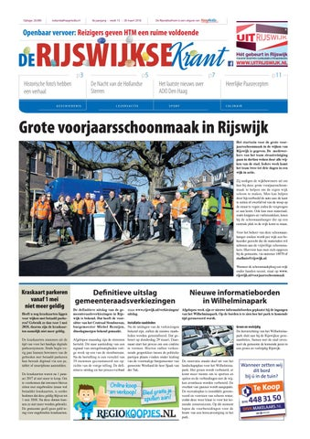 de rijswijksekrant week 13 2018 by haagmedia issuuWerving En Selectie Welzijn.htm #13