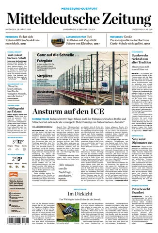 MZ Merseburg Ausgabe 28 03 2018 by Mediengruppe Mitteldeutsche ...