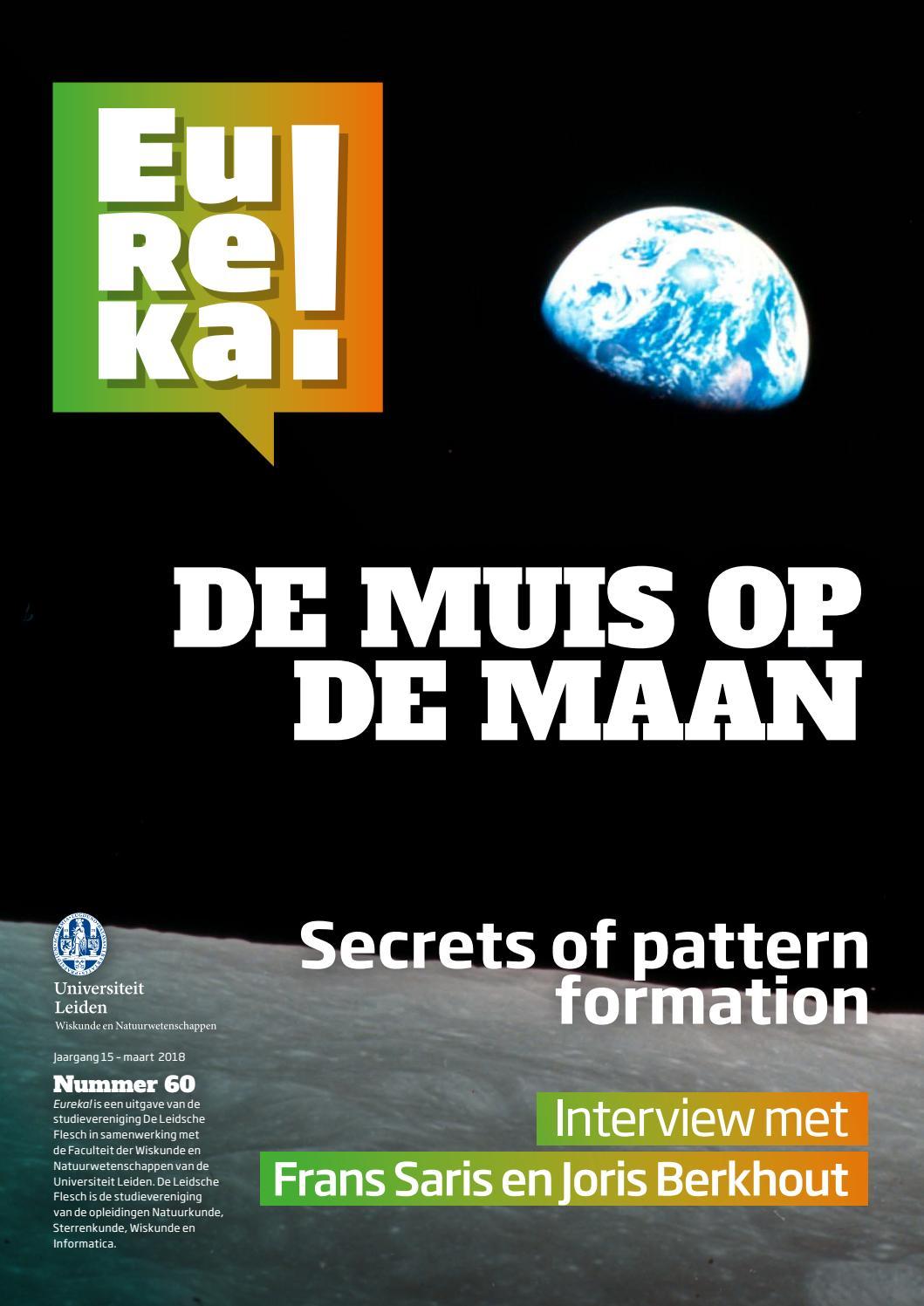 Eureka Nr 60 By Universiteit Leiden Issuu