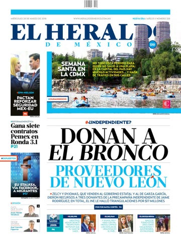 28 de marzo de 2018 by El Heraldo de México - issuu d70ce32d4cbb1