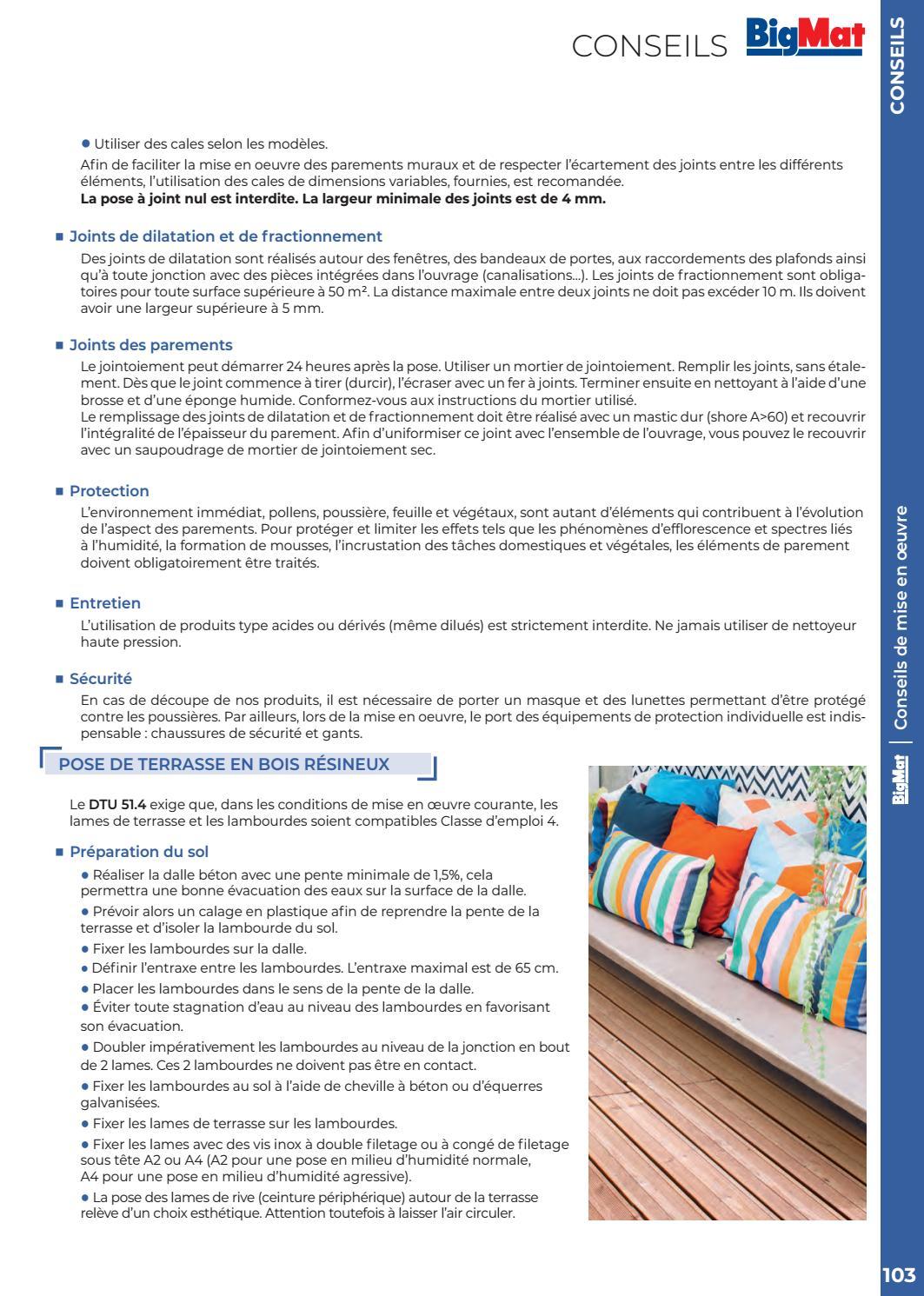 Bigmat Catalogue Aménagement Extérieur 2018 By Bigmatfrance