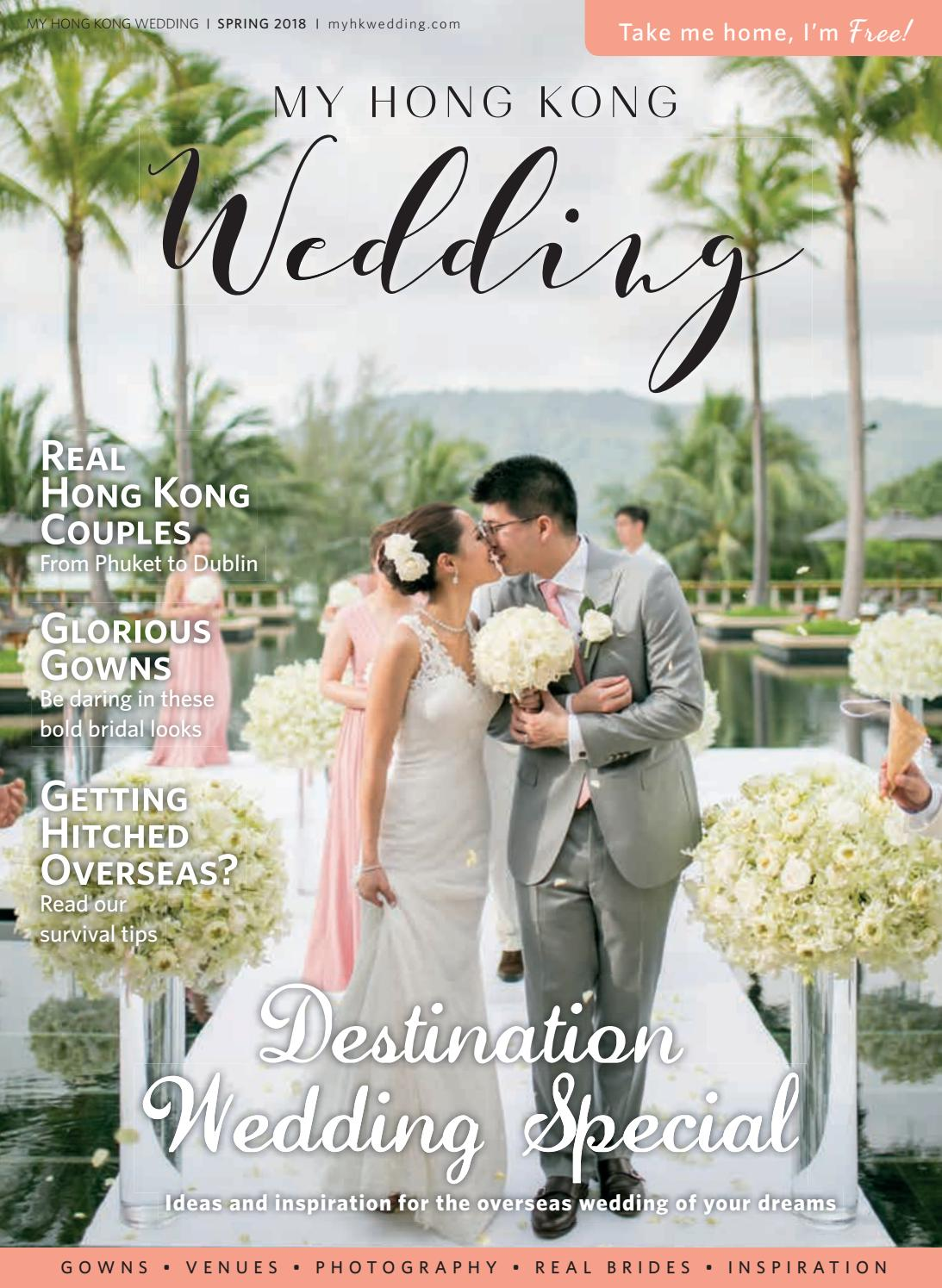 95ee6de85fe My Hong Kong Wedding Spring 2018 by Liv Media Limited - issuu