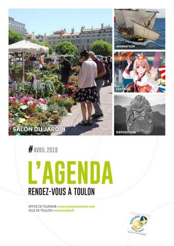 2018 de Toulon de la ville Toulon Agenda by Ville avril de shdCtQr