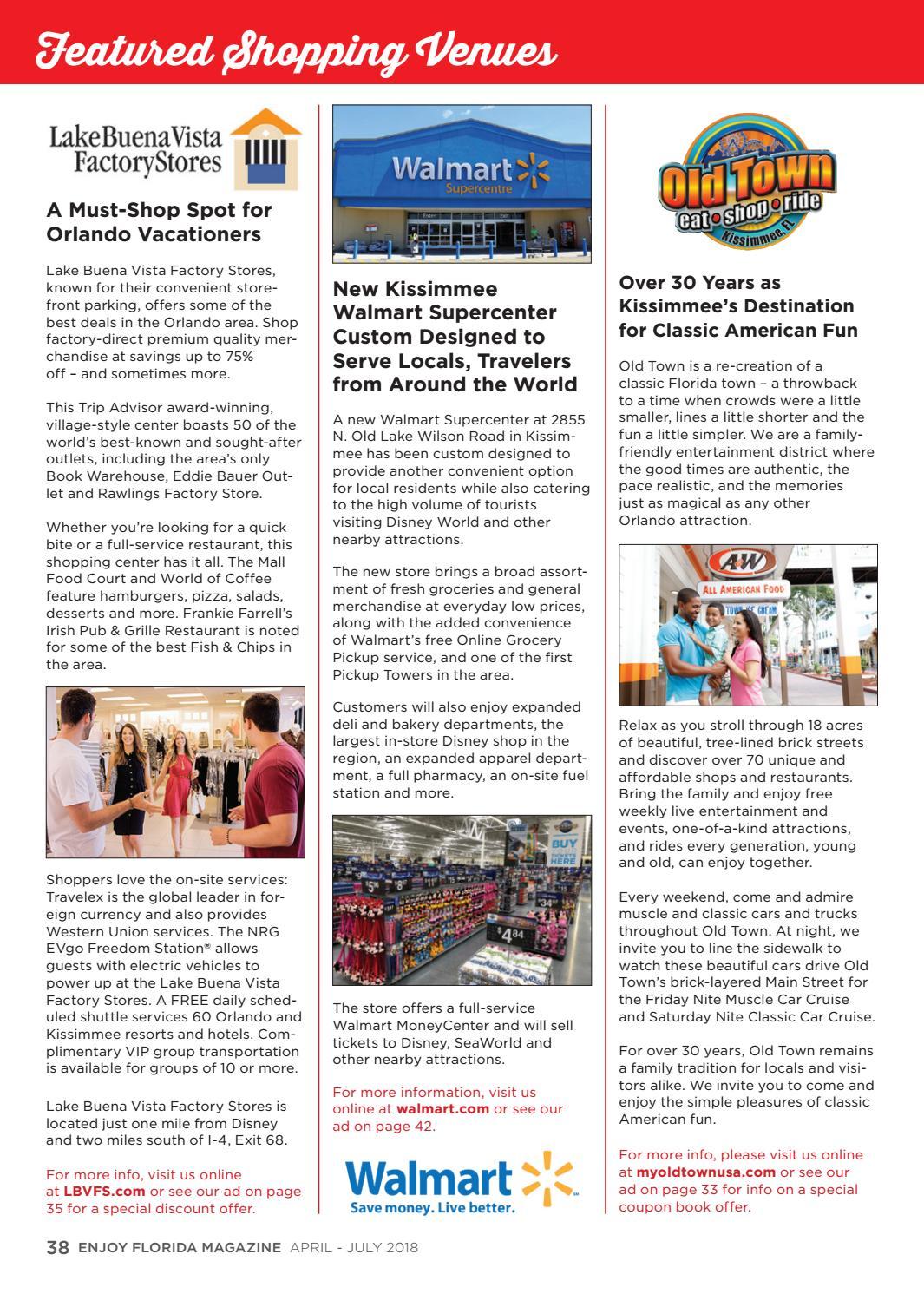 Enjoy Florida Magazine, April - July 2018 by Enjoy Florida