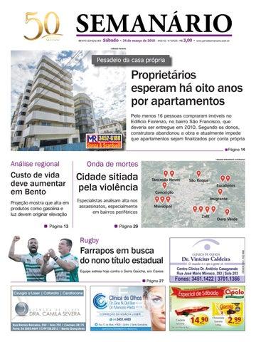 8b3bce4c35a Jornal Semanário - 24 de março de 2018 - Ano 51 - Nº 3423 by Jornal ...