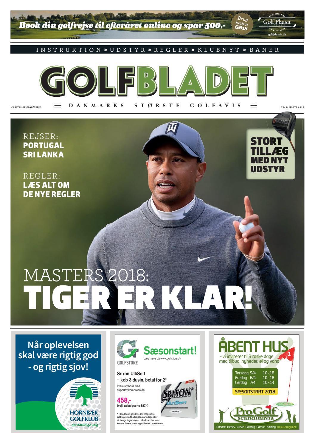 on sale 8b4e7 be1fd Golfbladet marts 2018 by Morten Buckhøj - issuu