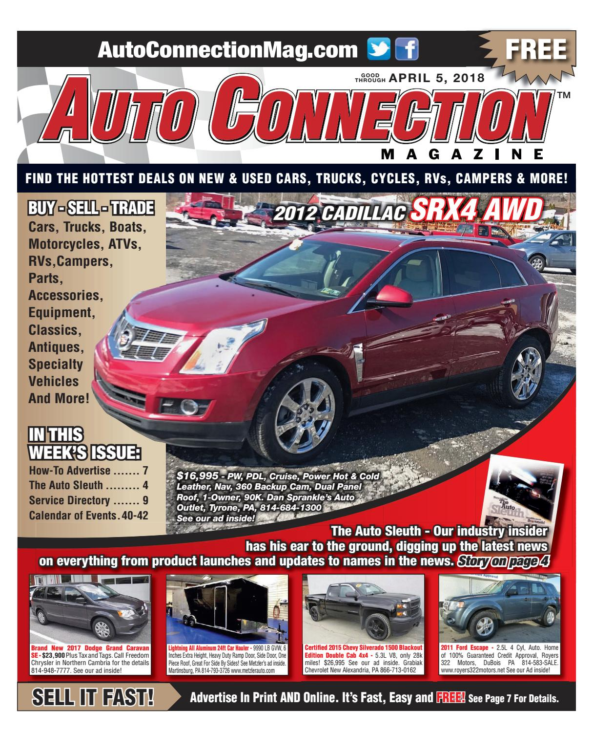 04-05-18 Auto Connection Magazine by Auto Connection