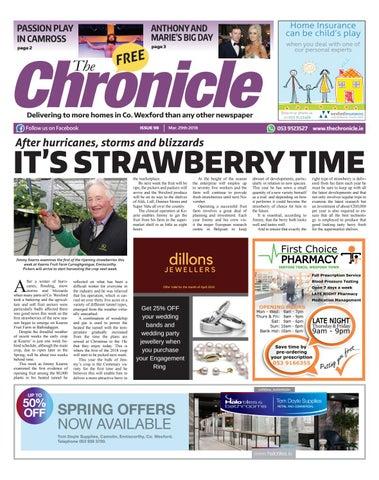 Issue 98 march 18 by Chronicle Wexford - issuu