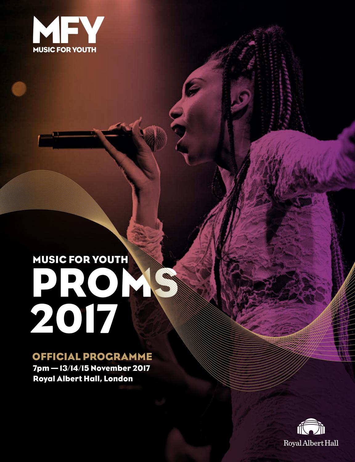 Music for Youth Proms 2017 - Souvenir Programme by Music for Youth