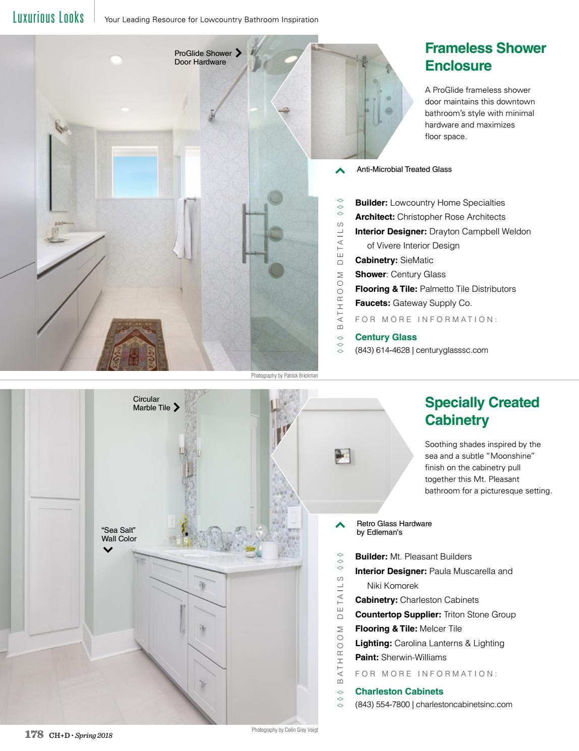 Charleston Home + Design Magazine: Spring 2018 By Charleston Home + Design  Magazine   Issuu